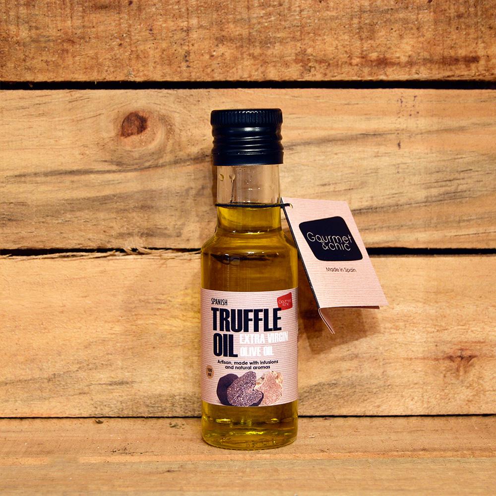 Aceite de Trufa artesano 100 ml. Gourmet & Chic.