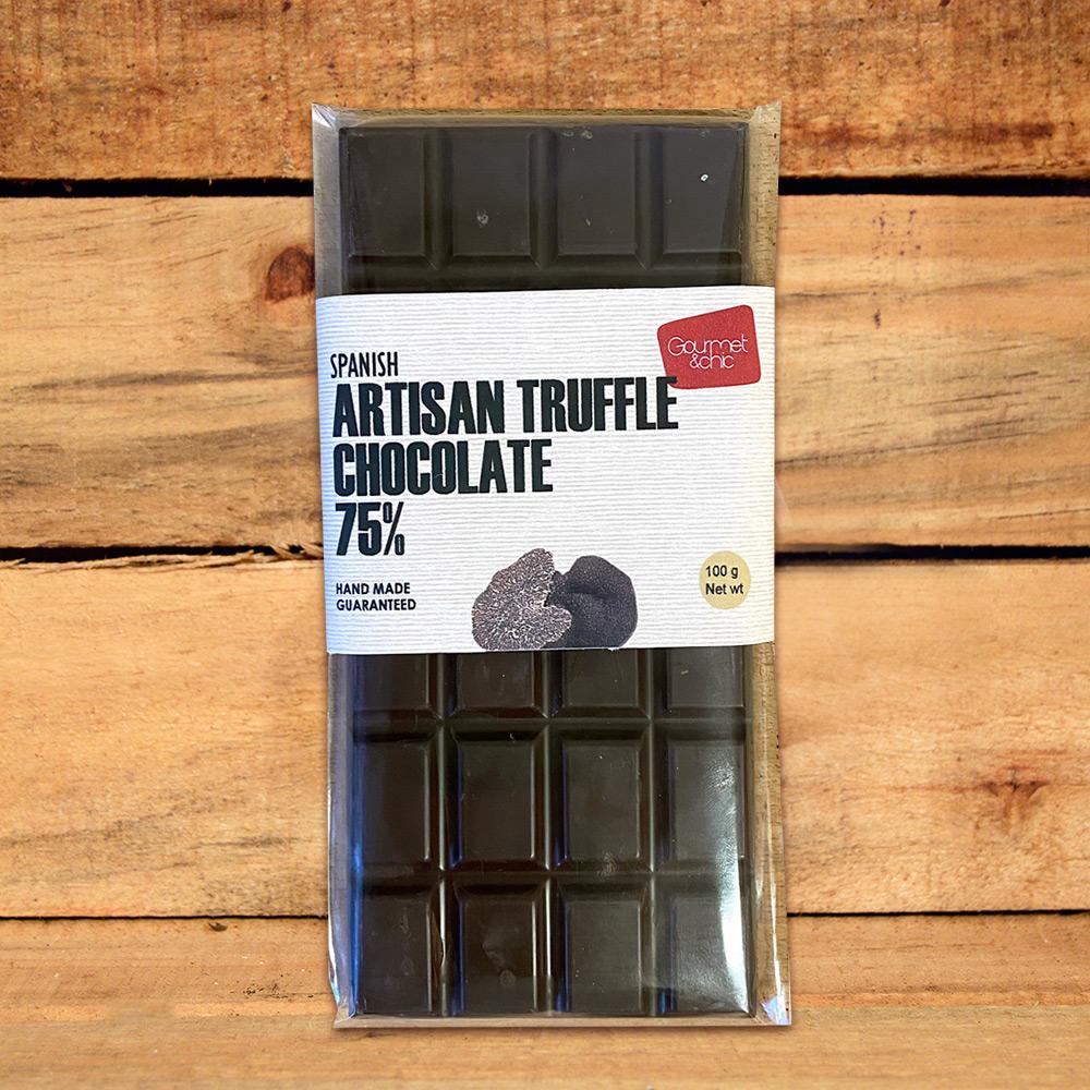 Chocolate de trufa artesano. Gourmet & Chic