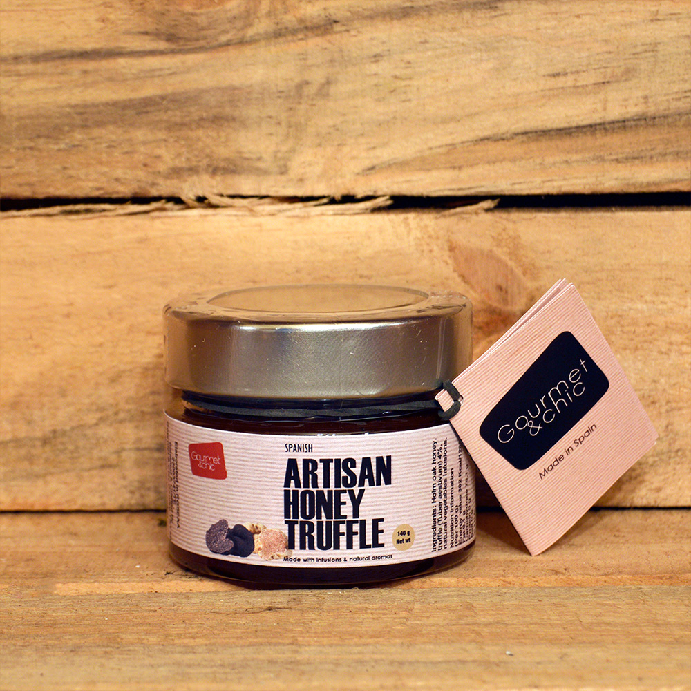 Miel artesana de Trufa 4%. 140 gr. Trufas. Gourmet & Chic.